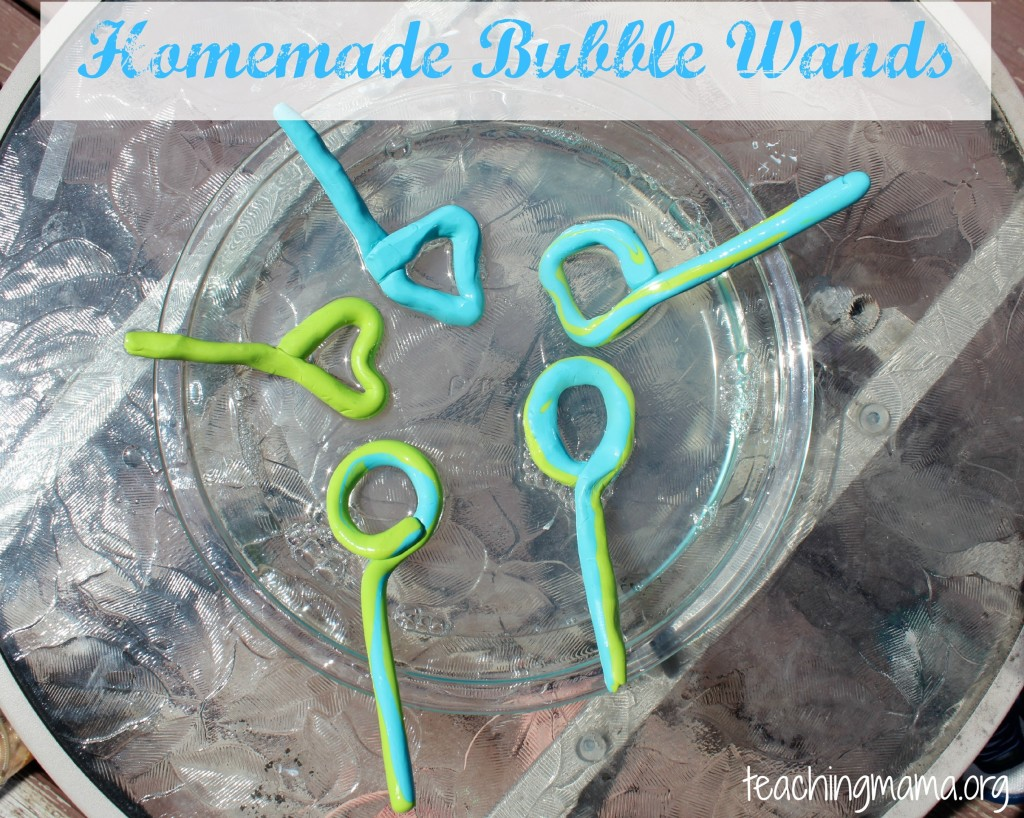 Homemade bubble wands and solution for Bubble wand