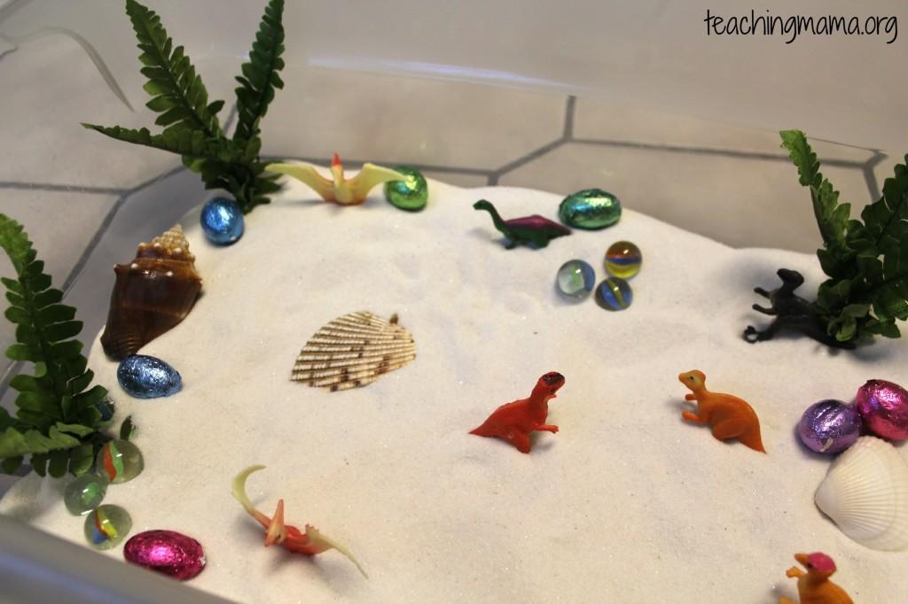 Dino Sensory Tub