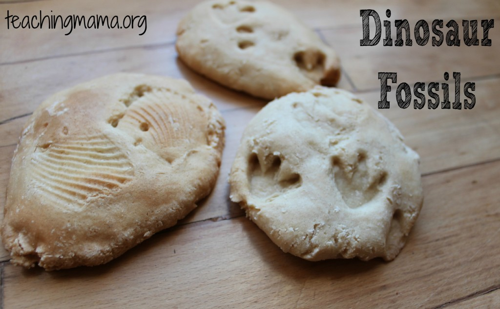 DIY Dinosaur Fossils using Salt Dough