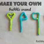 Homemade Bubble Wands and Solution