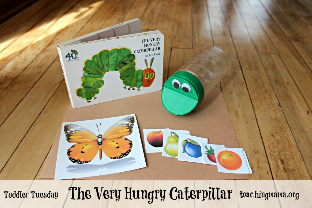 The Very Hungry Caterpillar- Toddler Activity