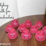 Ladybug Math for Preschoolers