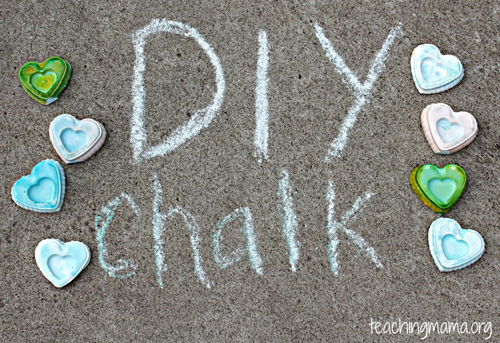 Recipe to Make Your Own Chalk
