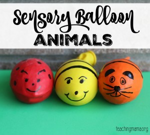 Toddler Tuesday: Sensory Balloon Bugs