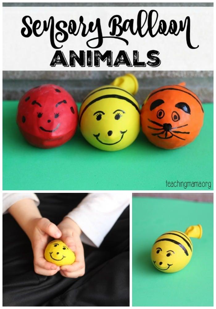 Sensory Balloon Animals Pin