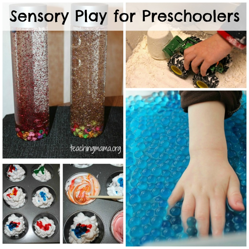 Sensory Play for Preschoolers