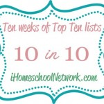 10 Benefits to Homeschooling your Preschooler