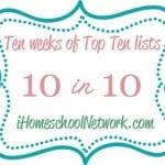 10 Benefits to Homeschooling your Preschooler
