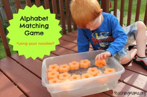 Letter W & Alphabet Matching Game
