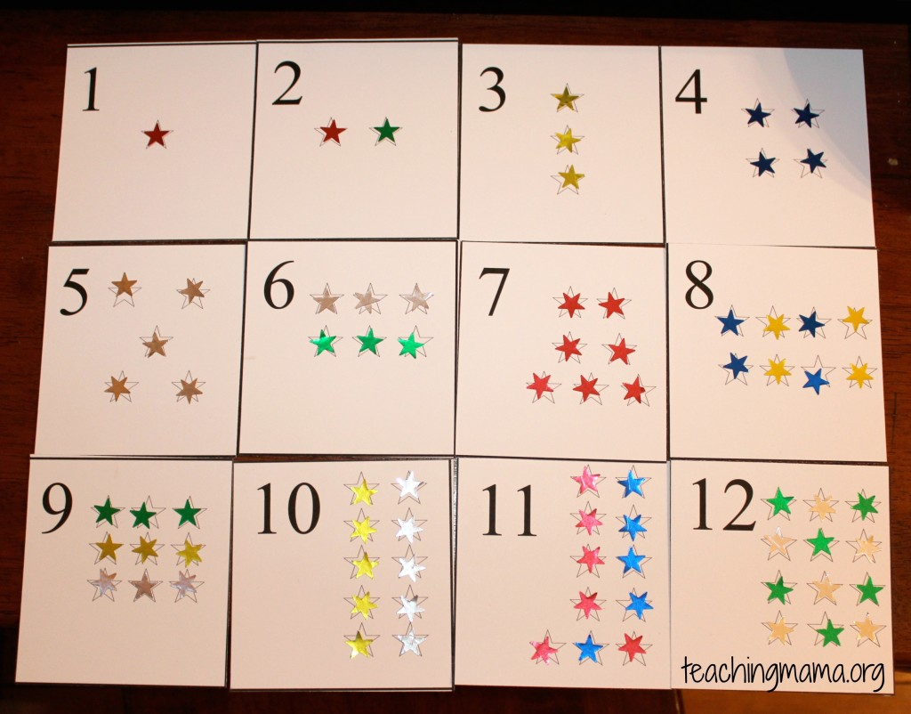 picture about Free Printable Number Cards named Star Selection Playing cards - Instruction Mama