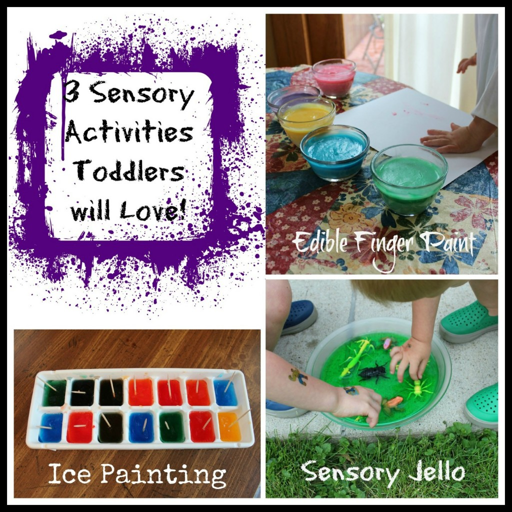 3 Sensory Activities Toddlers will Love!