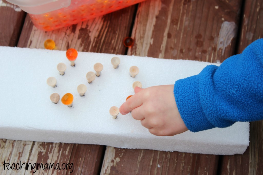 Water Beads with letter S