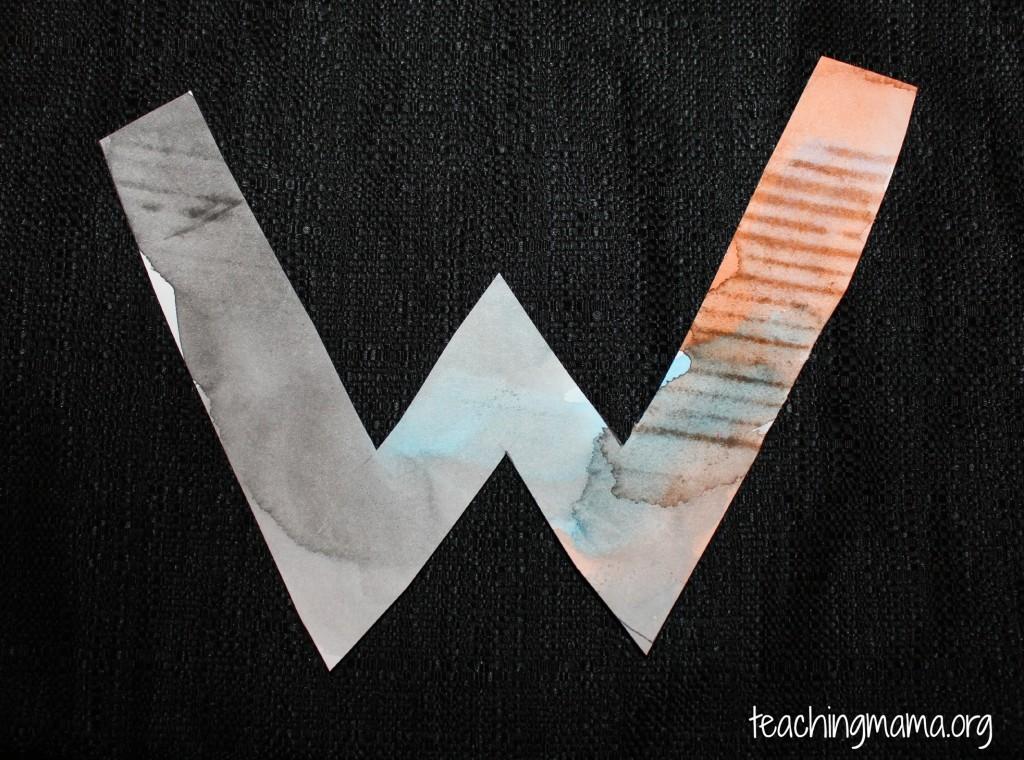 Watercolor W