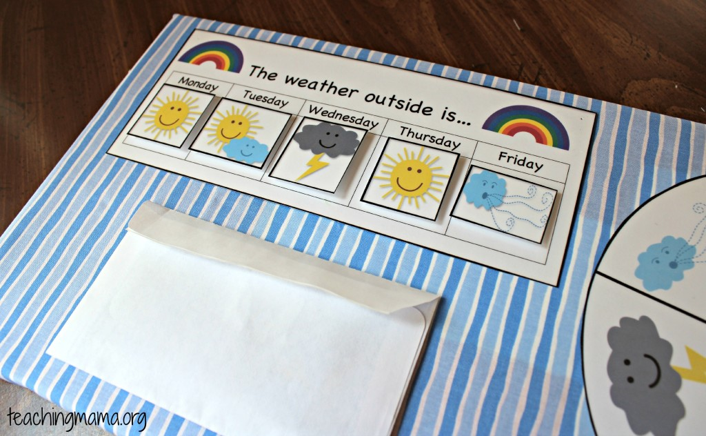 picture about Weather Charts Printable referred to as Do it yourself Preschool Climate Board With Totally free Printables