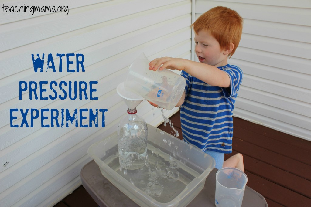 Water Pressure Experiment