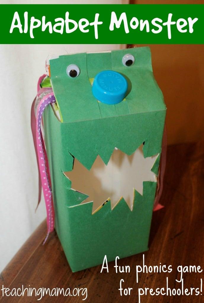 Alphabet Monster -- a fun phonics game for preschoolers!