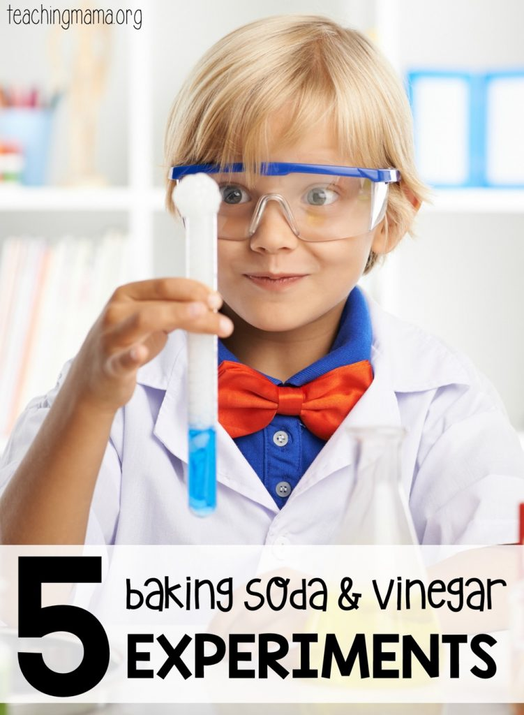 5 Baking Soda and Vinegar Experiments