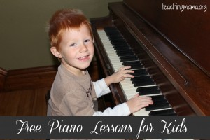 Free Piano Lessons For Kids (Review & Giveaway!)