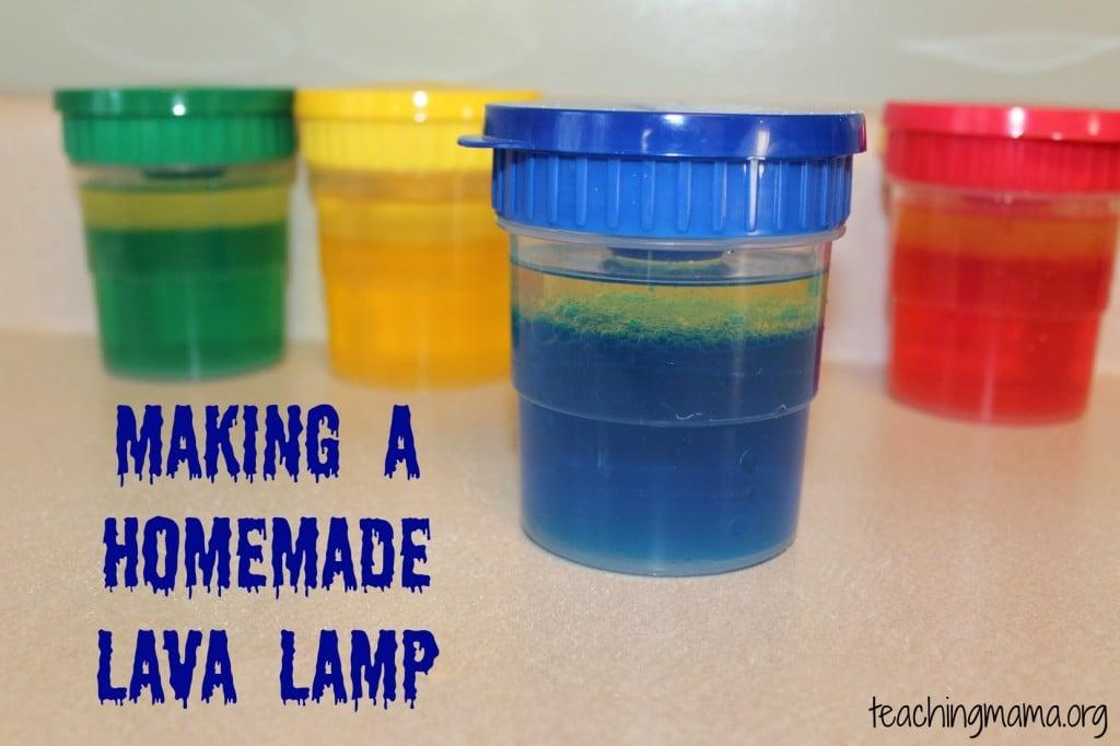 Making a Homemade Lava Lamp