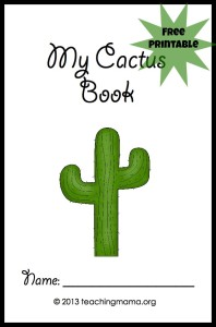 Exploring a Cactus {With Free Printable}