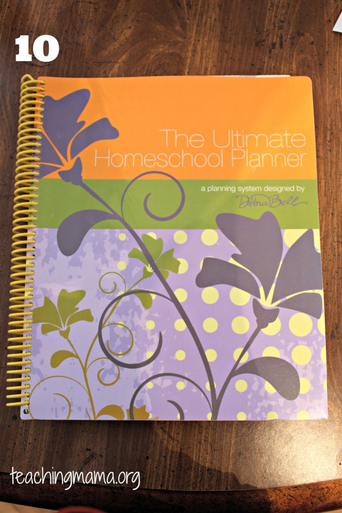 Ultimate Homeschool Planner