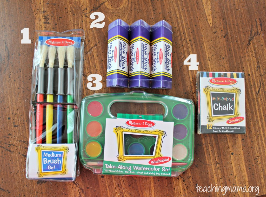 Preschool Supplies Giveaway