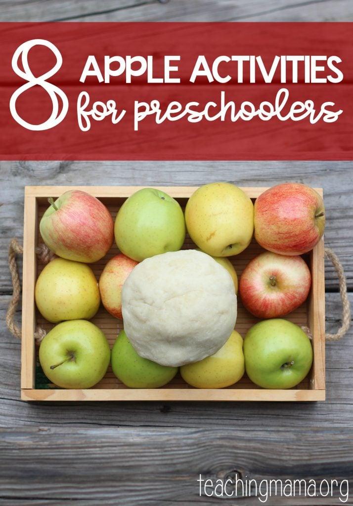 8 Apple Activities for Preschoolers