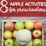 8 Apple Activities for Preschoolers