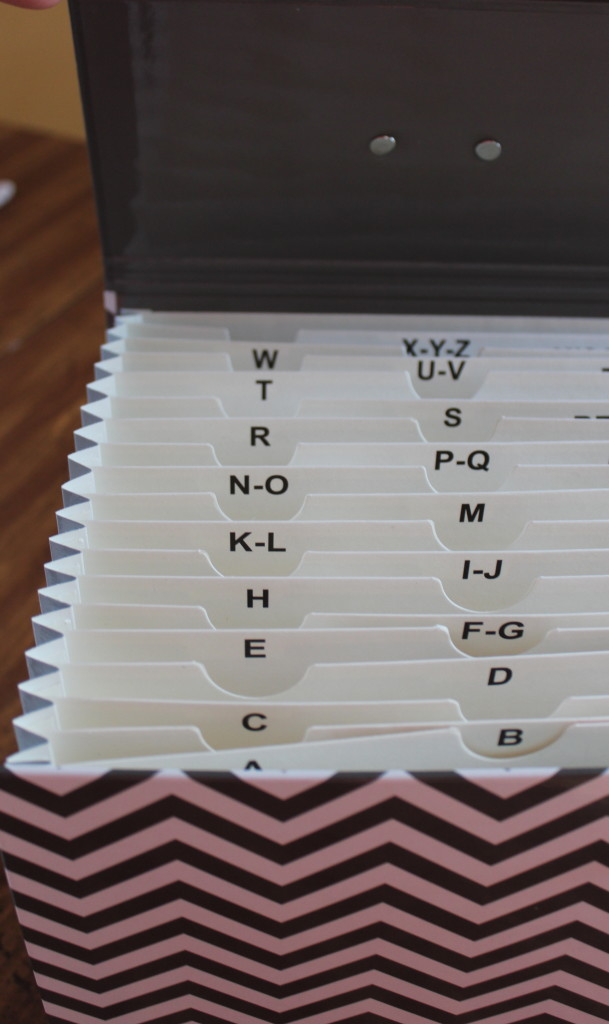 Accordion File from Office max