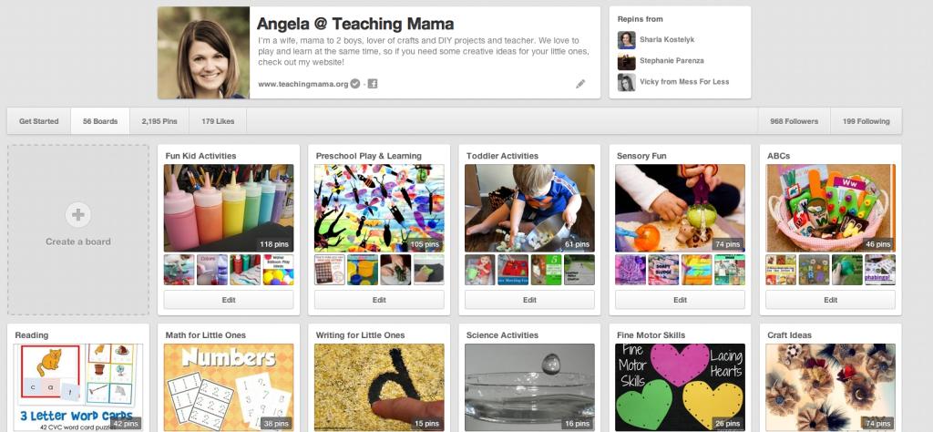 Teaching Mama Pinterest