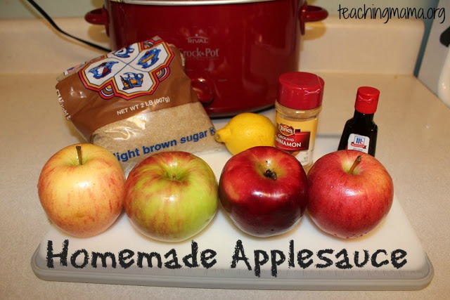 Making Applesauce Worksheets : Apple activities for preschoolers