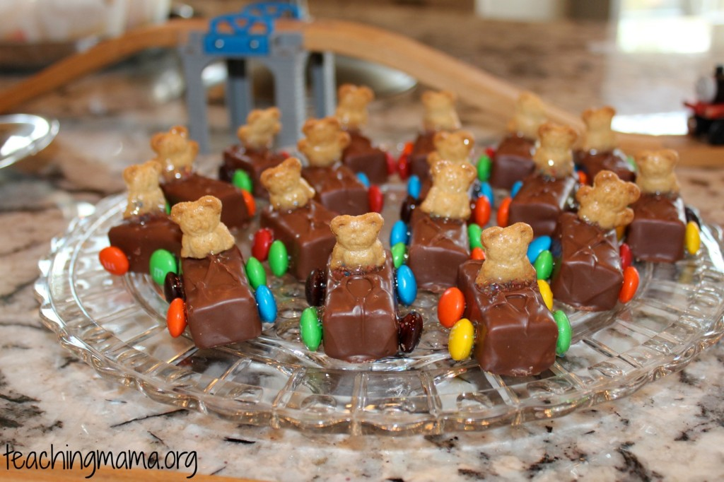 Candy Bar Cars (Transportation Themed Birthday Party)