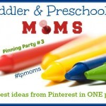 Toddler and Preschool Pinning Party #3