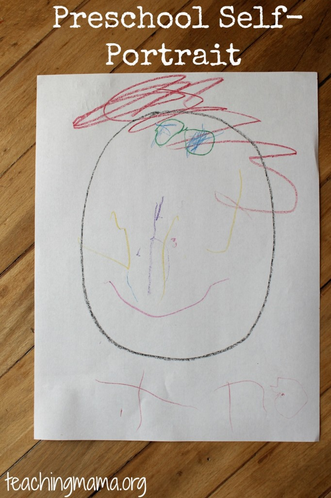 Preschool Self-Portrait
