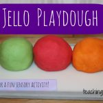 How to Make Jello Playdough
