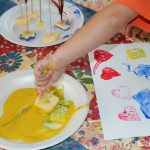 Rainbows & Racecars — with Homemade Edible Paint {guest post}