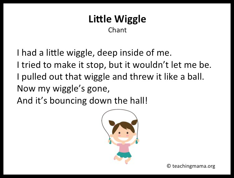 Hand Wiggle Song For Kids