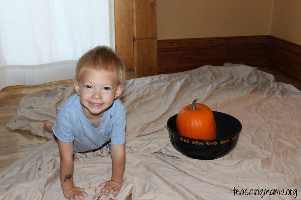 Pumpkin Sensory Activity