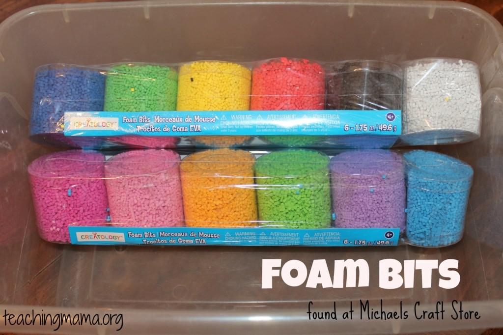 foam bits
