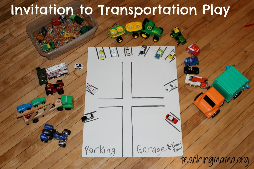 Invitation to Transportation Play