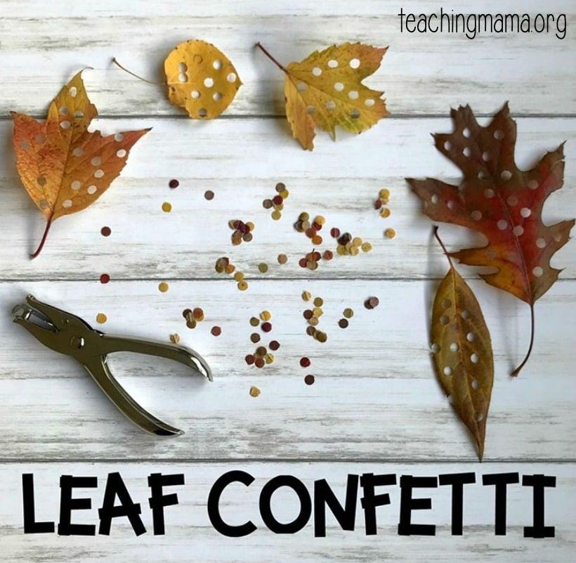 Leaf Activities For Preschoolers Teaching Mama