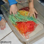 Learning Shapes with Spaghetti Noodles!