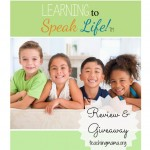 Learning to Speak Life {review and giveaway}