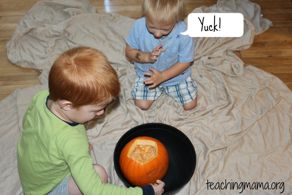 Pumpkin Sensory Activity