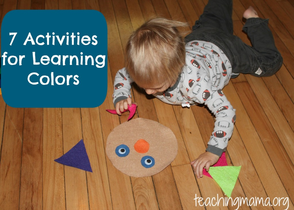 7 Activities for Learning Colors