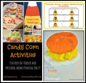 Candy Corn Activities & Pinning Party #10