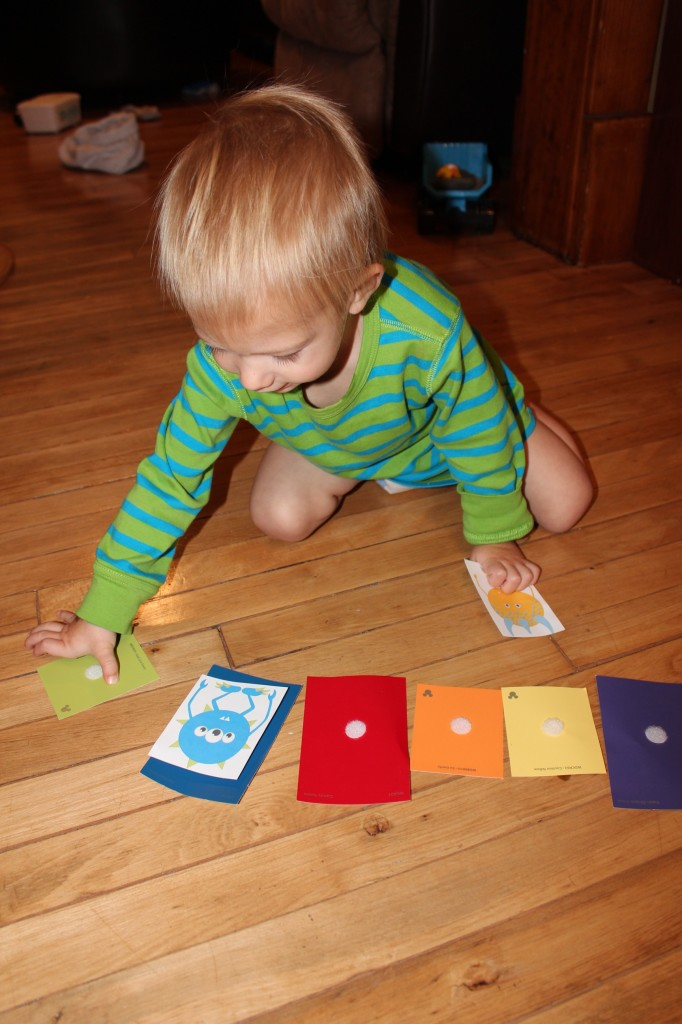 Monster Color Matching Game