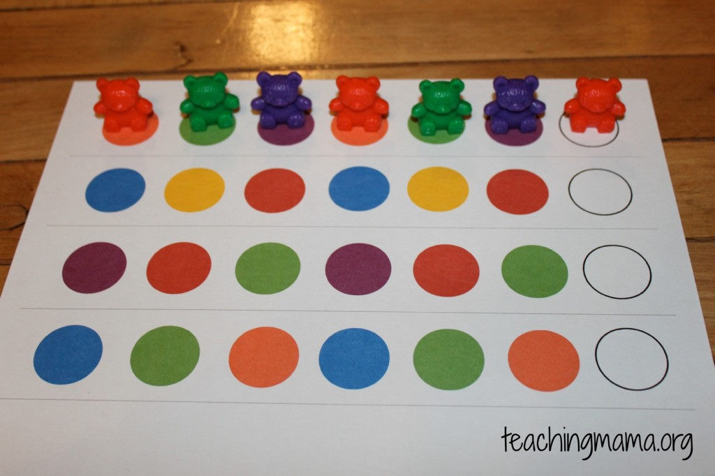 Hands-On Math Activities for Preschoolers