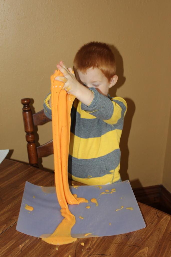 Making Homemade Slime!