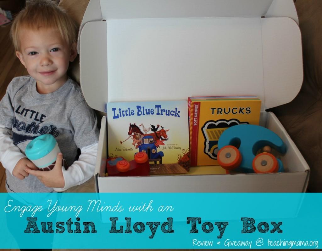 Austin Lloyd Toy Box (Giveaway & Review)
